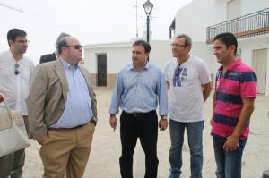 Visita del vicepresidente de la Diputación