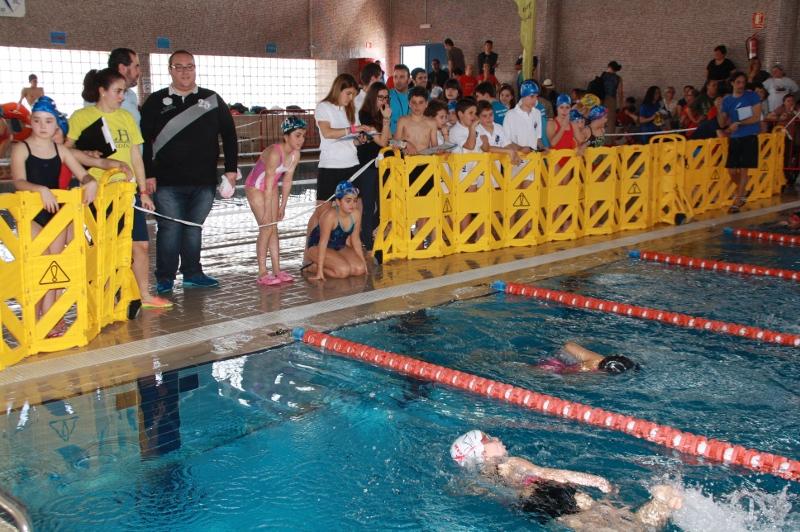 M s de 300 ni os se dan cita en la piscina municipal en for Piscina municipal motril