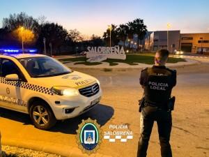 Policía Local, control